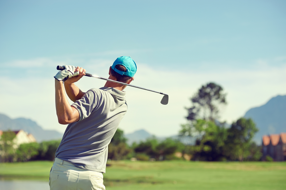 Golfer Image